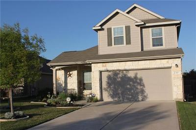 Leander Single Family Home For Sale: 160 Eagle Owl Loop