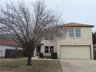 Round Rock Single Family Home For Sale: 2811 Adelen Ln