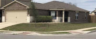 Kyle Single Family Home For Sale: 1600 Treeta Trl