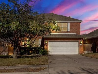 Round Rock Single Family Home For Sale: 3788 Fossilwood Way