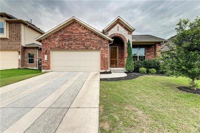 Austin Single Family Home For Sale: 124 Rose Mallow Way