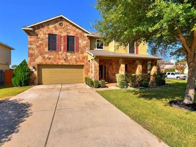 Hutto Single Family Home For Sale: 1100 Concan Dr