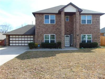 Harker Heights TX Single Family Home For Sale: $225,000