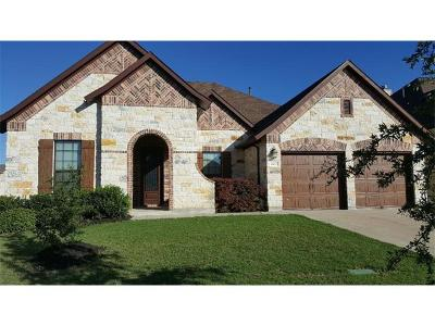 Cedar Park Single Family Home For Sale: 2400 Sweetwater Ln