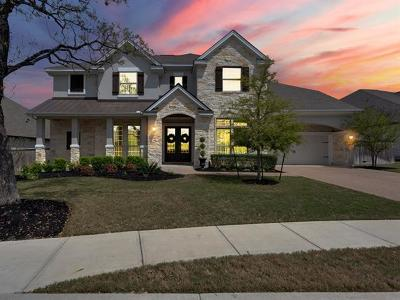 Leander Single Family Home For Sale: 2720 Rain Song