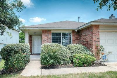 Pflugerville Single Family Home For Sale: 900 Flatters Way
