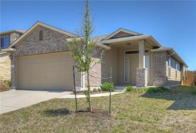 Manor Single Family Home Pending - Taking Backups: 12102 Walter Vaughn Dr