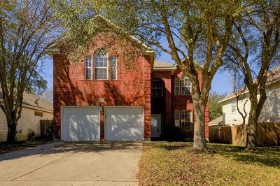 Round Rock Single Family Home For Sale: 8903 Glen Canyon Dr
