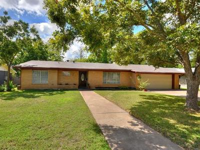 Travis County Single Family Home Pending - Taking Backups: 5502 Delwood Dr