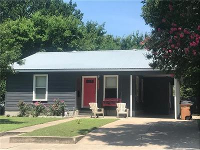 Austin Single Family Home For Sale: 5512 Duval St