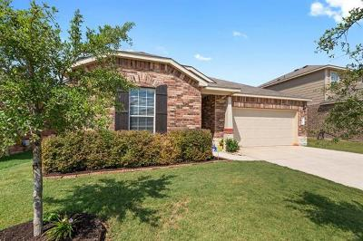 Leander Single Family Home For Sale: 165 Marcheeta Way