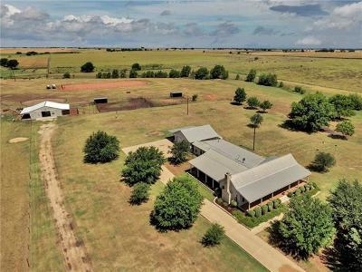Burnet County, Lampasas County, Bell County, Williamson County, llano, Blanco County, Mills County, Hamilton County, San Saba County, Coryell County Farm For Sale: 13870 Krause Rd