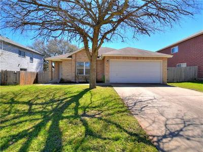 Leander Single Family Home For Sale: 1908 Grassland Dr
