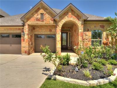Round Rock Single Family Home For Sale: 4564 Miraval Loop