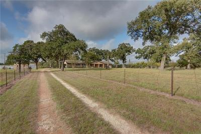 Smithville Single Family Home Pending - Taking Backups: 195 Rosanky Cattle Company Rd