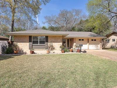 Austin Single Family Home Pending - Taking Backups: 8502 Millway Dr