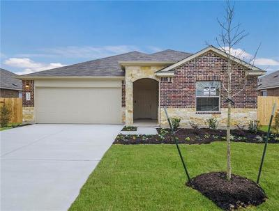 Hutto Single Family Home For Sale: 814 Kates Way