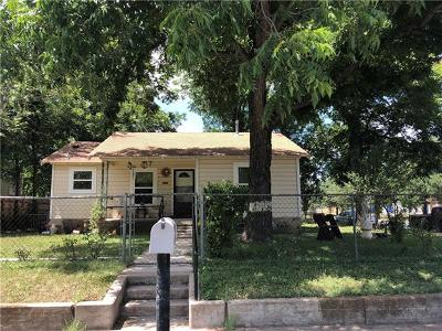 Single Family Home For Sale: 1701 Haskell St