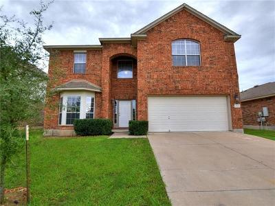 Pflugerville Single Family Home For Sale: 17621 Bridgefarmer Blvd