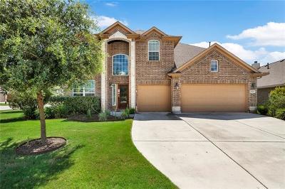 Round Rock Single Family Home For Sale: 8201 Reggio St