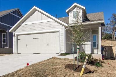 Liberty Hill  Single Family Home For Sale: 140 Red Buckeye Loop
