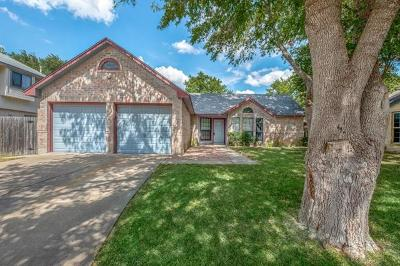 Round Rock Single Family Home Pending - Taking Backups: 621 Hawthorne Ln