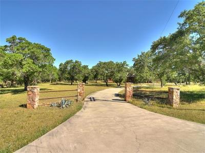 Dripping Springs Single Family Home Pending - Taking Backups: 290 Miss Donna Ln