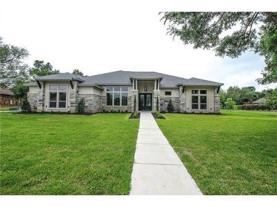 Salado Single Family Home For Sale: 3008 Rolling Meadow Dr