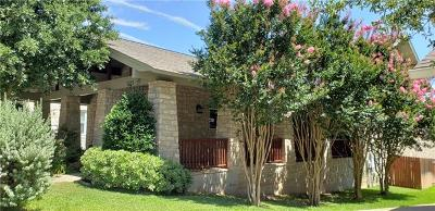 Cedar Park Single Family Home For Sale: 3123 Mill Stream Dr