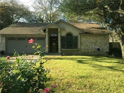 Cedar Park TX Single Family Home For Sale: $225,000