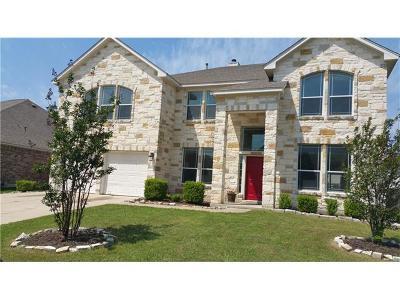 Pflugerville Single Family Home For Sale: 1104 Laurel Oak Trl