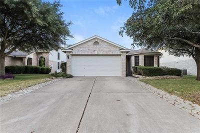 Round Rock Single Family Home For Sale: 1704 Chinati Mountain Trl