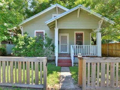 Single Family Home For Sale: 1201 Holly St