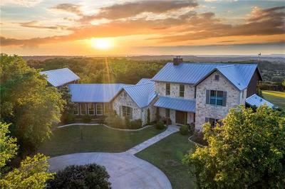 Dripping Springs Single Family Home For Sale: 5500 McGregor Ln