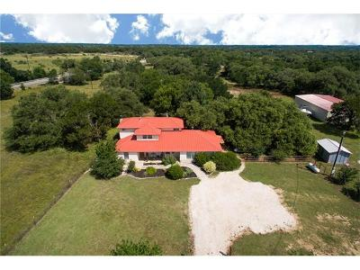 Leander Single Family Home For Sale: 4411 Oak Creek Rd