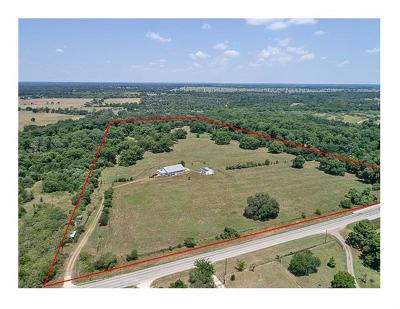 Bastrop County Single Family Home For Sale: 1460 Fm 20 W