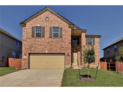 Williamson County Single Family Home For Sale: 226 Culebra Dr