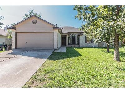 Hutto Single Family Home Pending - Taking Backups: 104 Twilight Way
