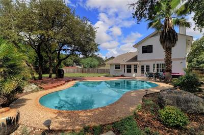 Cedar Park Single Family Home For Sale: 1107 Brookside Cv