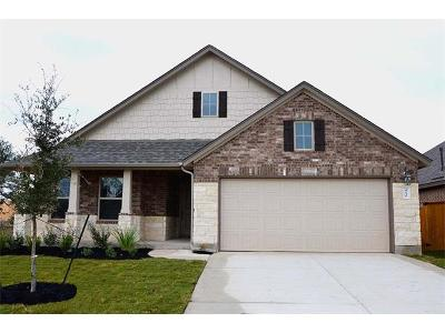 Round Rock Single Family Home For Sale: 4130 Kingsley Ave