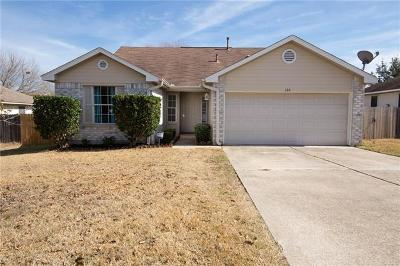 Hutto Single Family Home Pending - Taking Backups: 120 Little Lake Rd