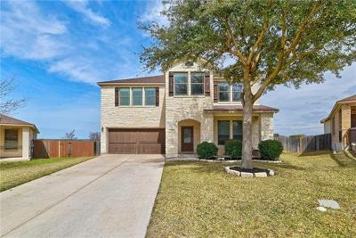 Cedar Park Single Family Home Pending - Taking Backups: 618 Clover Flat Rd
