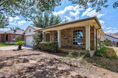 Round Rock Single Family Home For Sale: 3307 Ross Cv