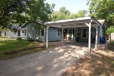 Hays County, Travis County, Williamson County Single Family Home For Sale: 2806 Brinwood Ave