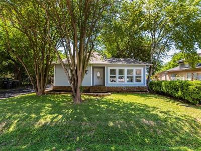 Buda Single Family Home Pending - Taking Backups: 110 Prairie Ave
