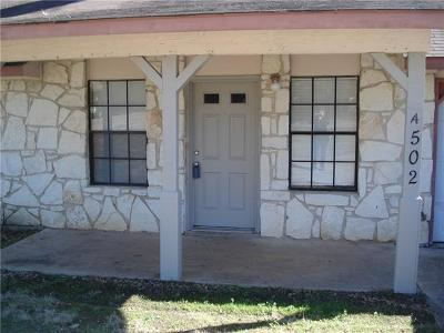 Georgetown Rental For Rent: 502 Hedgewood Dr #A