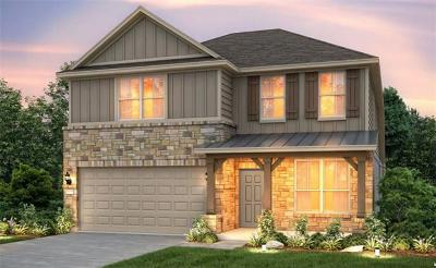 Hutto TX Single Family Home For Sale: $286,090