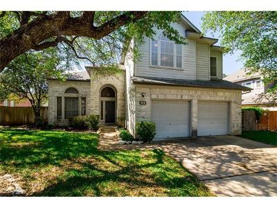 Cedar Park Single Family Home Pending - Taking Backups: 919 Woodhollow Ln