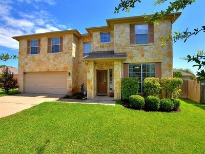 Pflugerville Single Family Home Pending - Taking Backups: 18824 Caisteal Castle Path