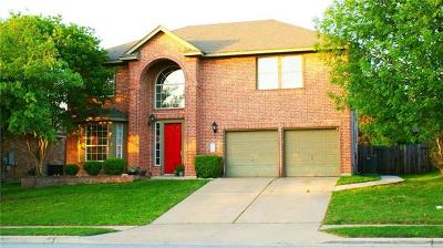 Pflugerville Single Family Home For Sale: 2202 Speidel Dr